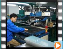 迪多自动丝印工艺过程2