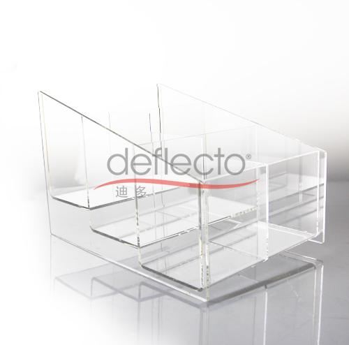 迪多-有机玻璃护肤品展示架