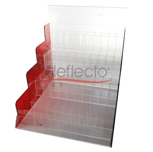 迪多-亚克力多层多格展示架