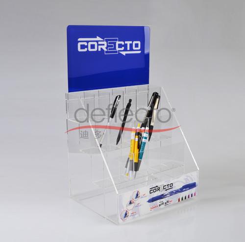 迪多-有机玻璃桌面笔架