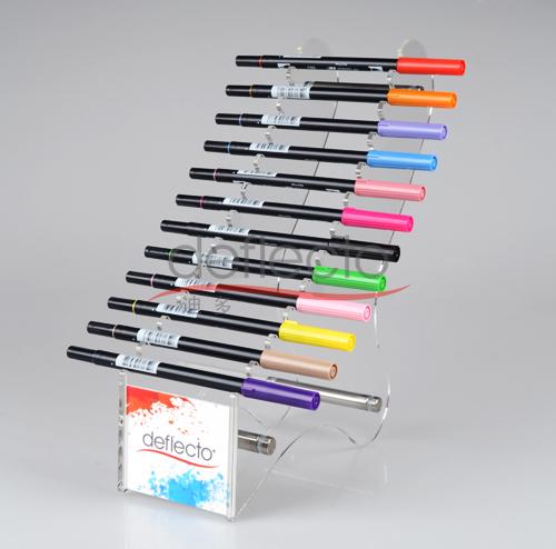 迪多-有机玻璃笔架展示架