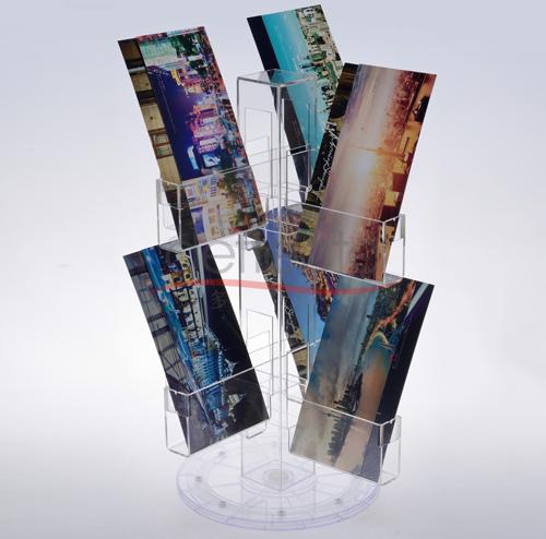 迪多-旋转名信片展示架
