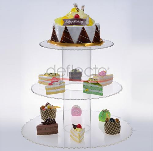 迪多-精美亚克力蛋糕架