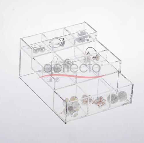 迪多-化妆品首饰盒展示架