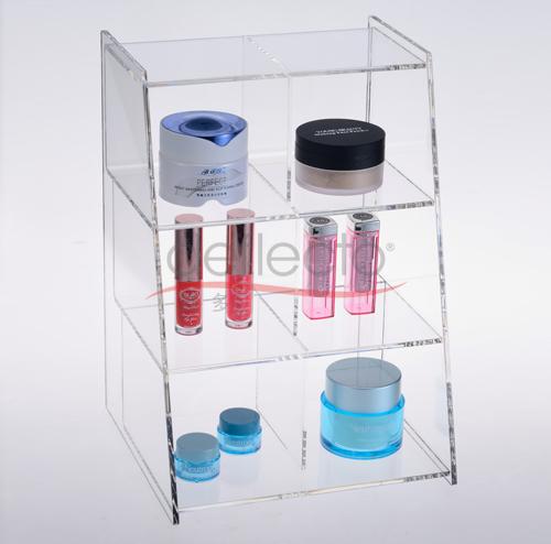 迪多-有机玻璃化妆品架