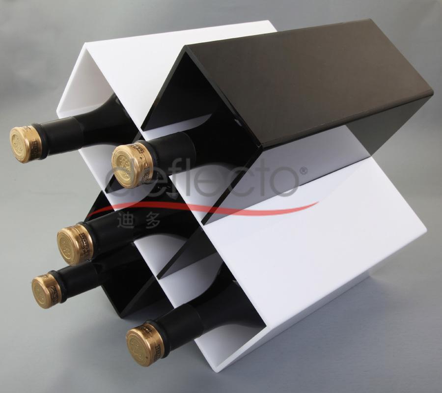 迪多-有机玻璃红酒存放架