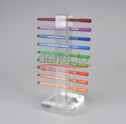 迪多-有机玻璃透明笔座