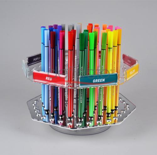 迪多-旋转可拆式有机玻璃笔架