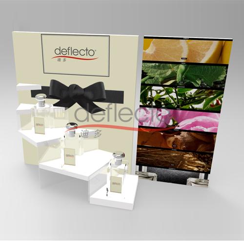 迪多--有机玻璃台阶香水展示架
