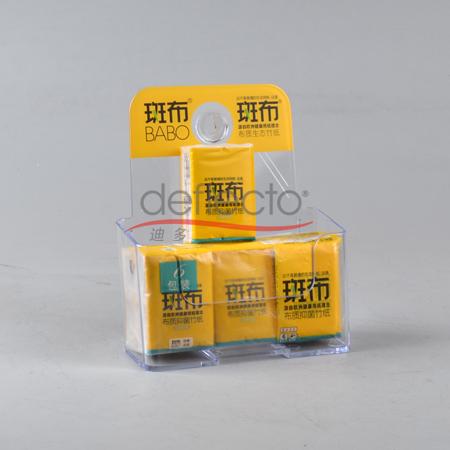 迪多-LOGO丝印手帕纸纸巾宣传广告架